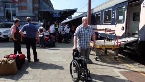 En gare de Tournai