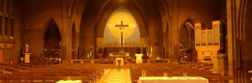 église du bon pasteur Mouscron